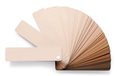 couleur peau teint palette
