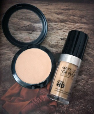 maquillage fond de teint fluide HD make up for ever