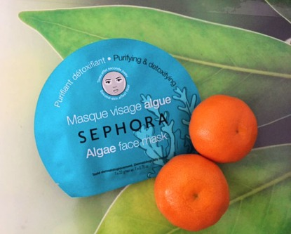 masque sephora visage algue