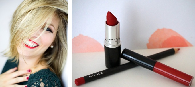 lèvres rouges sexy maquillage mac
