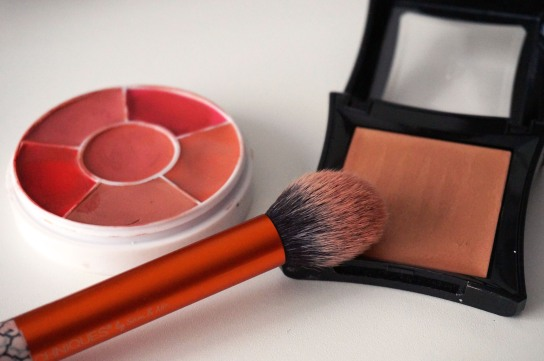 maquillage blush joues rose