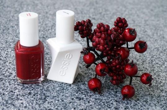 vernis essie rouge topcoat