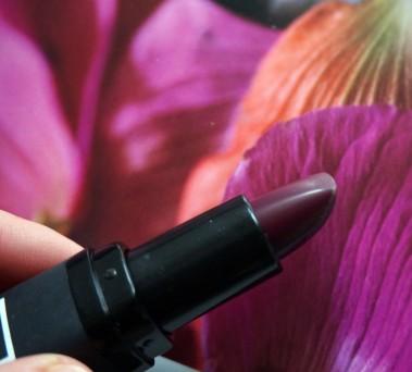 rouge à lèvres mate prune