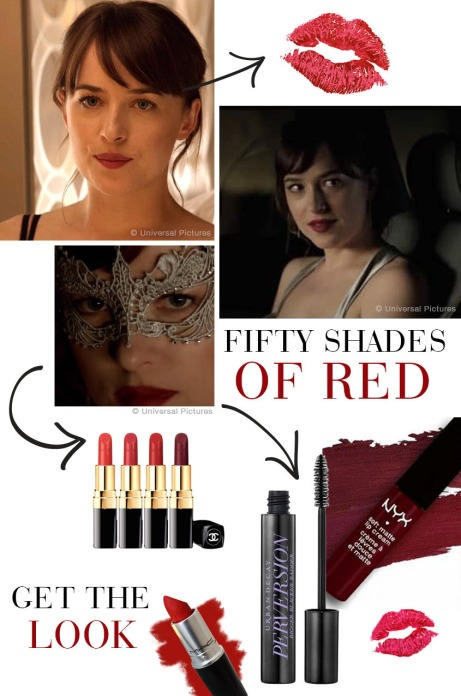 50 shades of red lips st valentin